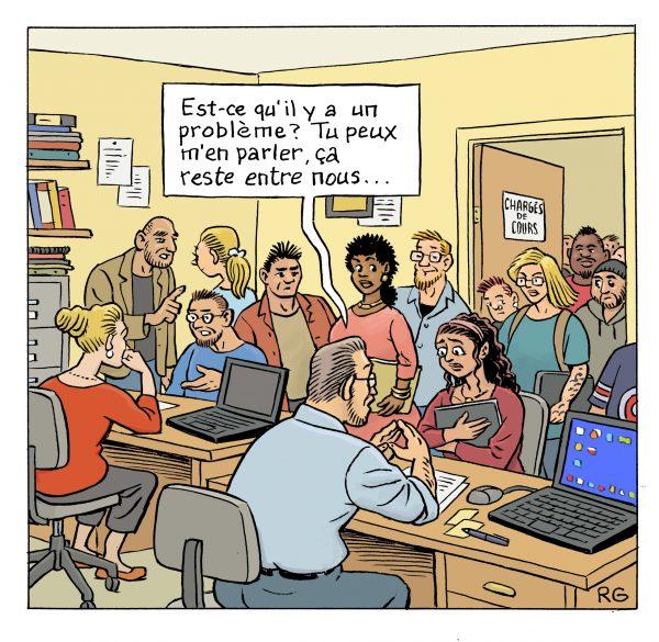 Pénurie de locaux à l'UQO : La confidentialité n'est plus assurée