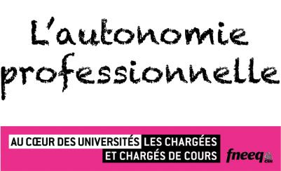 Centre de pédagogie universitaire : une menace pour l'autonomie professionnelle